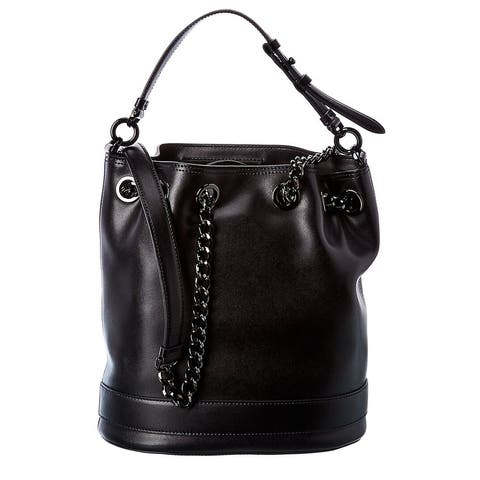Salvatore Ferragamo Leather Bucket Bag