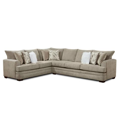 Archie Taupe Sectional