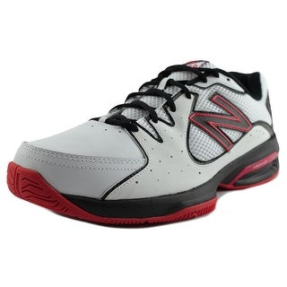 New Balance M786 Men 2E Round Toe Leather White Tennis Shoe