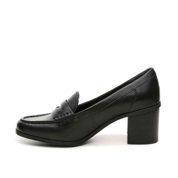 LAUREN by Ralph Lauren Womens Darla Leather Closed Toe Classic Pumps - 7