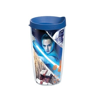Star Wars Last Jedi Action 16 oz Tumbler with lid