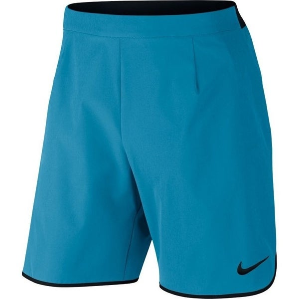 02e9ee2657eee Shop Nike NEW Blue Mens Size XL Dri-Fit Technology Stretch Athletic Shorts  - Free Shipping On Orders Over $45 - Overstock - 19536118