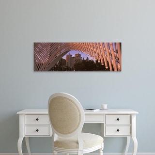 Easy Art Prints Panoramic Image 'Myriad Botanical Gardens bandshell, Oklahoma City, Oklahoma' Canvas Art
