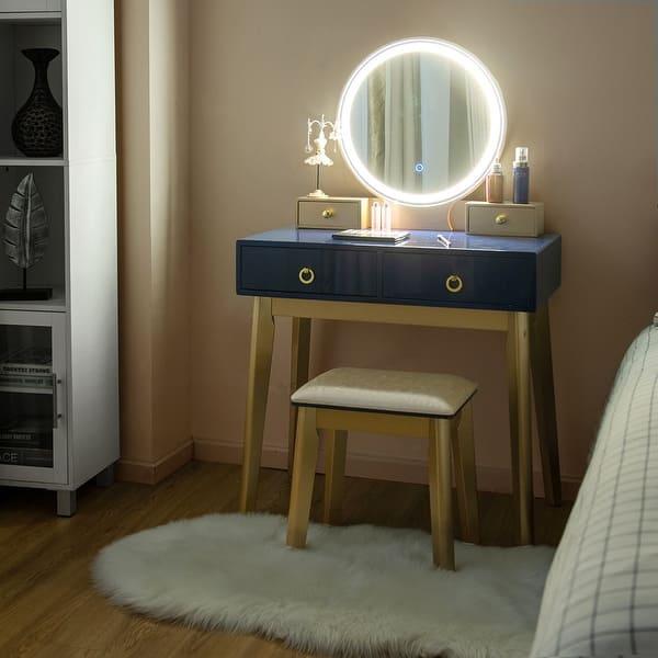 Makeup Vanity Table Set 3 Color