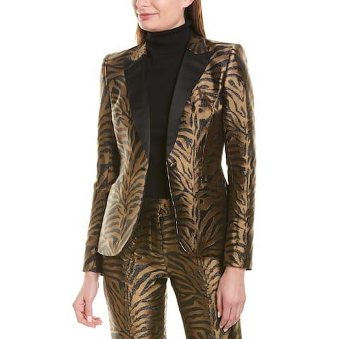 Prabal Gurung Fitted Silk-Lined Blazer