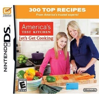 123376 America in.s Test Kitchen- Let in.s Get Cooking - DS
