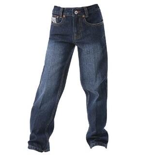 Cinch Western Denim Jeans Toddler Boys White Label MB12820002 (Option: 4t)