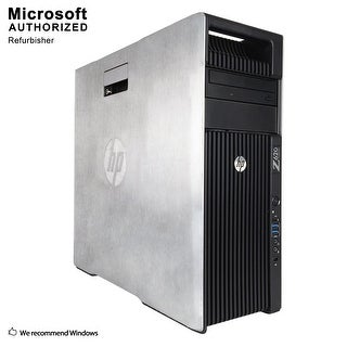 HP Z420 TW, Intel Xeon E5 2609 2.4G, 16G DDR3, 120G SSD+3TB, DVD, WIFI, USB 3.0, BT 4.0, +1GB Graphics,W10P64(EN/ES)-Refurbished