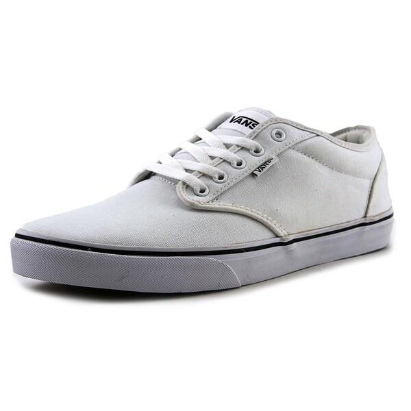 Vans Atwood Men Round Toe Canvas White Skate Shoe