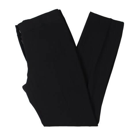 Tahari ASL Womens Dress Pants Skinny Mid-Rise - Black - 4
