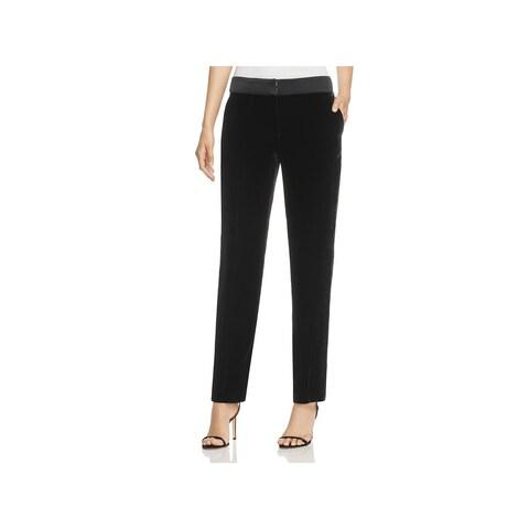 BOSS Hugo Boss Womens Tolesa Trouser Pants Velvet High-Rise