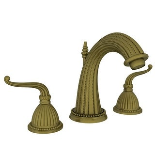 Newport Brass 1090  Alexandria Double Handle Widespread Lavatory Faucet with Metal Lever Handles