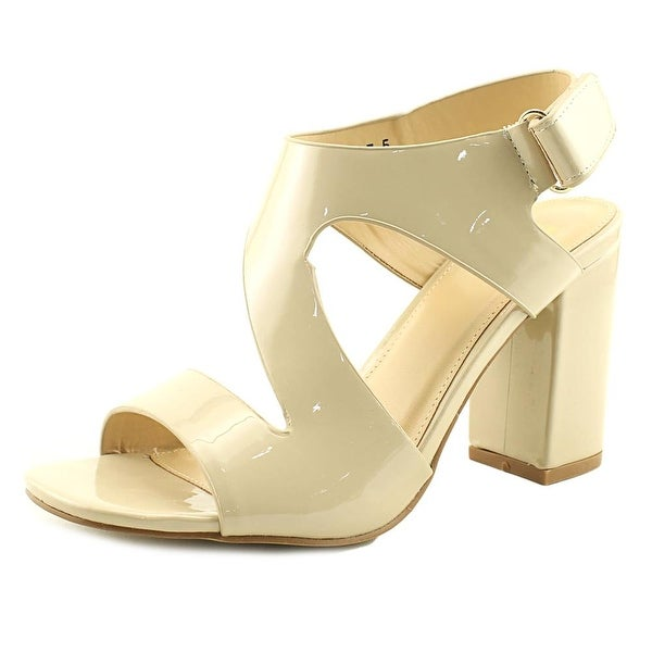 G.C. Shoes Bellaire Women Open Toe Synthetic Nude Sandals