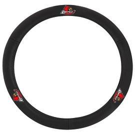 Pilot Automotive Black Leather Louisville Cardinals Car Auto Steering Wheel Cover