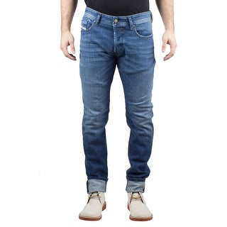 Diesel Sleenker Men's Slim-Skinny Stretch Denim Jeans 0844W