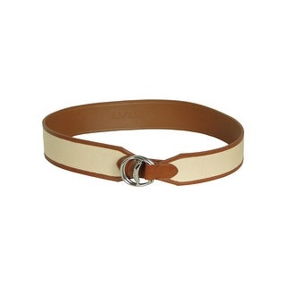 Lauren by Ralph Lauren Women's Thick Width Faux Leather Belt