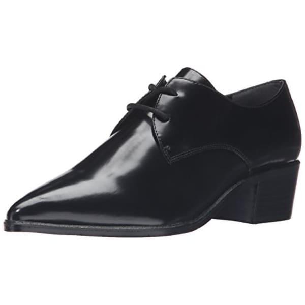 Marc Fisher Womens Etta Oxford Heels Leather Pointed Toe - 6 medium (b,m