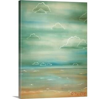 """Beach I"" Canvas Wall Art"