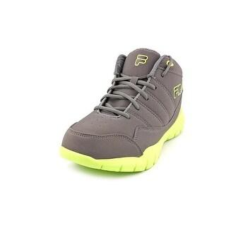Fila Jump Flex Youth Round Toe Synthetic Black Basketball Shoe