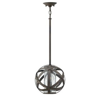 "Hinkley Lighting 29707 Carson Single Light 10"" Wide Outdoor Pendant (2 options available)"