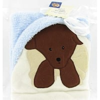 "Blue Puppy Snugly Soft Fleece Blanket - 30"" x 40"""
