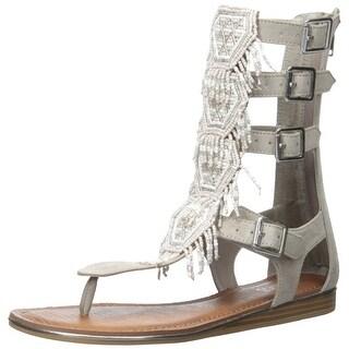 Carlos by Carlos Santana Womens taos Open Toe Casual Gladiator Sandals
