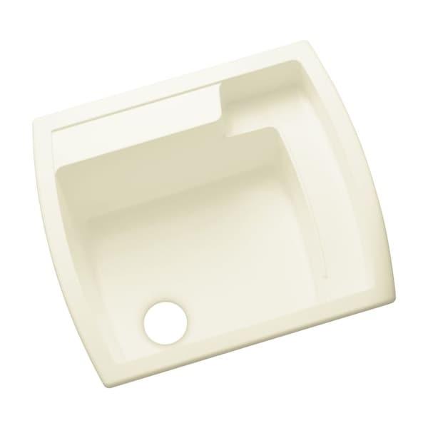 "Sterling 995 Latitude 25"" Single Basin Drop In or Undermount Acrylic Laundry Sink"