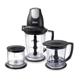 Ninja QB1004 Black Master Prep Professional Food & Drink Mixer