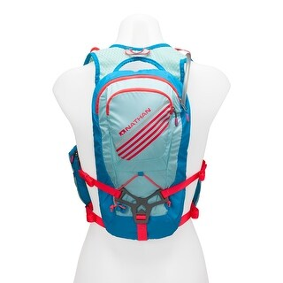 Nathan Sports Women's Moxy 7 Liter Race Hydration Vest - 5035N - blue danube