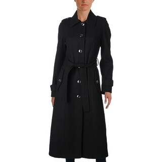 MICHAEL Michael Kors Womens Long Coat Solid Lined - 2