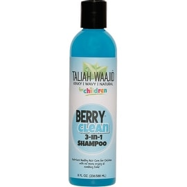 Taliah Waajid Kinky, Wavy, Natural Clean 3-in-1, Berry 8 oz