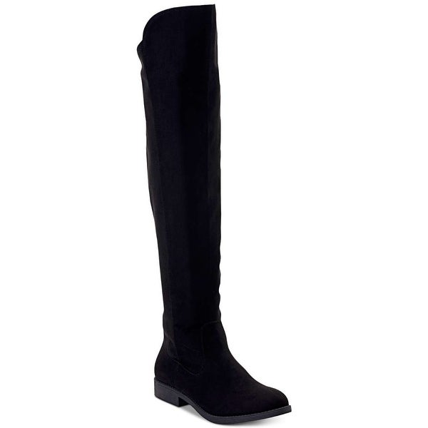 Style & Co. Women's Shoes Hayley Almond Toe Over Knee Fashion Boots. Opens flyout.