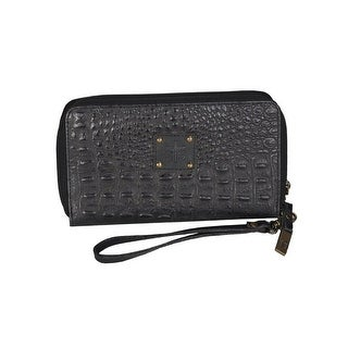 StS Ranchwear Western Bag Womens Croc Leather Kacy STS63043 - Black - One size