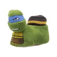 Nickelodeon Boys Ninja Turtle Novelty Slippers Polyester - S
