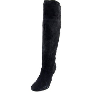 Bandolino Jess Women Round Toe Suede Knee High Boot