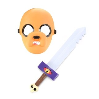 Adventure Time Mask And Sword Jake - TAN