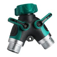 Garden Hose 2 Way Splitter