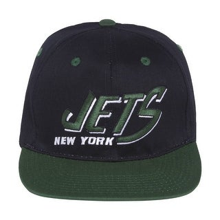 NFL New York Jets Flatbill 2 Tnoe Snapback Hat - New York Jets