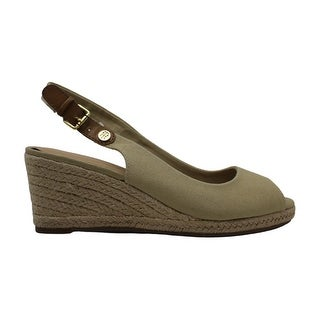 Link to Tommy Hilfiger Womens nhalia2 Fabric Peep Toe Casual Espadrille Sandals Similar Items in Women's Shoes