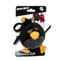 "Angry Birds Movie 4.5"" Plush Clip On: Bomb - multi"