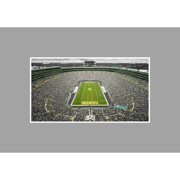 Lambeau Field NFL on Poster Matte Poster 36x20 Touch of Color