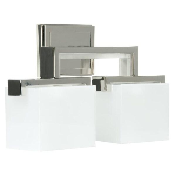 "Craftmade 18217-2 Kade 17"" Wide 2 Light Bathroom Vanity Light - Polished Nickel"