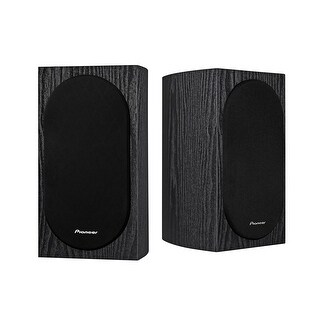 Pioneer SP-BS22-LR Andrew Jones Designed Bookshelf Speakers - Pair (Black)