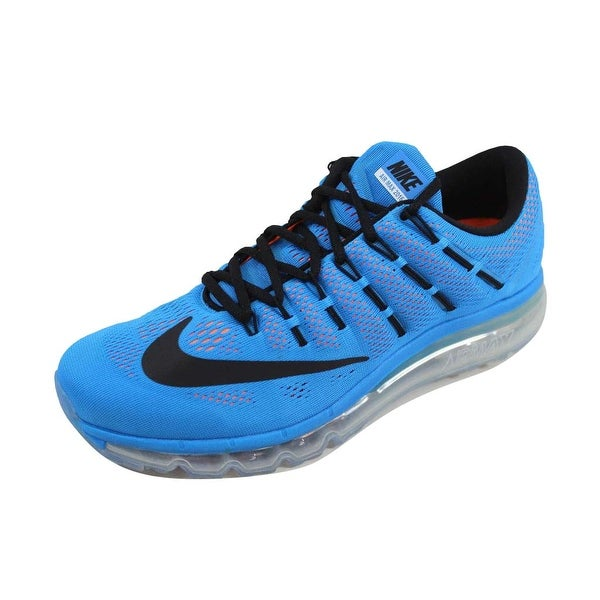 newest de5d8 674fd Nike Men  x27 s Air Max 2016 Photo Blue Black-Total Orange806771