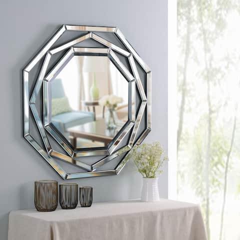 "Miller Mirrored Frame Wall Mirror - 34"" x 34"""