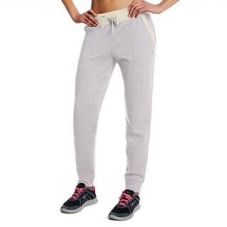 Champion Womens Grey Adjustable Waist Cotton Blend Jogger Sweatpants S-XL