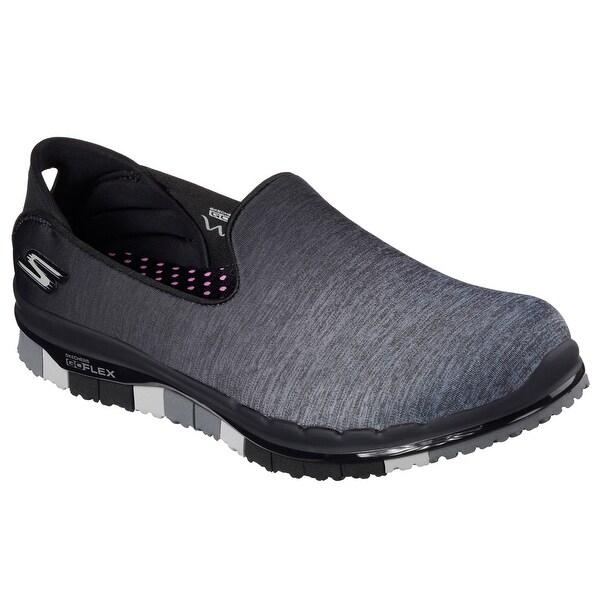 Skechers 14018 BKGY Women's GO FLEX WALK-MUSE Walking