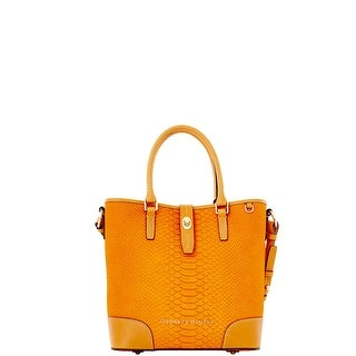 Dooney & Bourke Claremont Python Medium Cayden (Introduced by Dooney & Bourke at $348 in Aug 2014) - Mustard