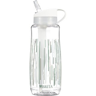 Brita Hard Sided Water Filtration Bottle - Clear - Case of 4 - 1 Count