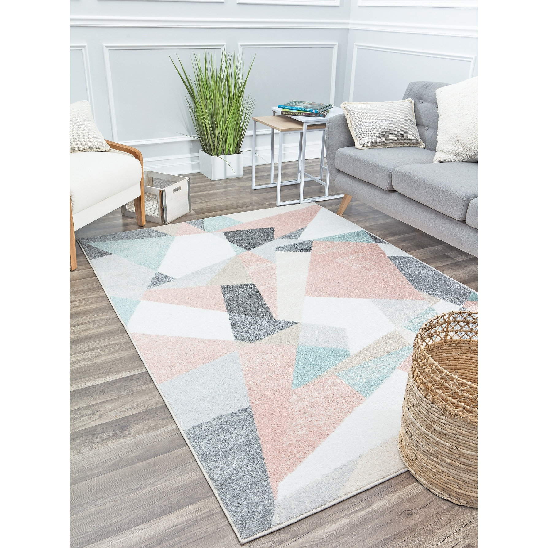 Mika Modern Contemporary Abstract Area Rug By Rugs America On Sale Overstock 30830144